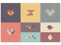 Unused Marks and Logo Concepts 2013/4