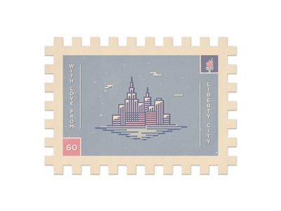 Liberty City Stamp