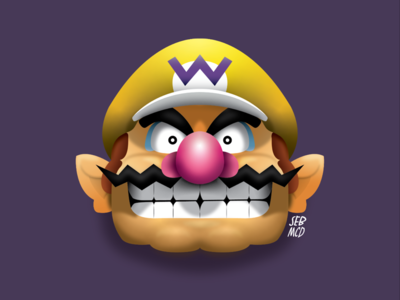 Wario illustration.