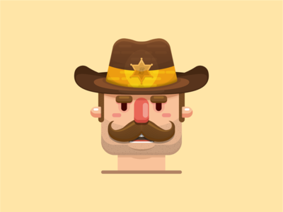 Sheriff illustration.