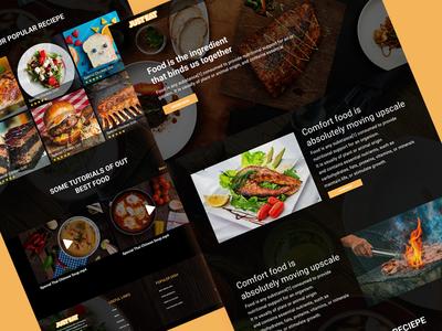 Just eat Restaurant UX/UI