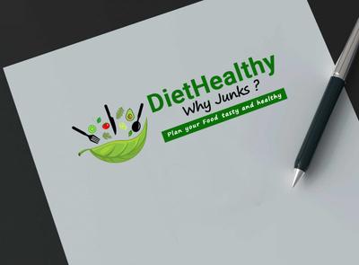 diet logo logo a day logo mock-up designer logo green logo photoshop logodesign logo design logotype diet app diet typography branding layout ux ui  ux design ui vector design logo creative  design