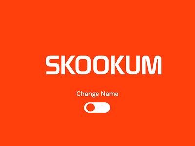 Skookum Is Now Method animation branding logo design