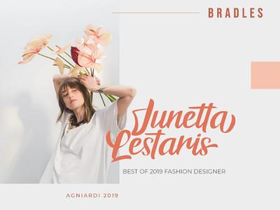 Bradles Script Font font script wedding