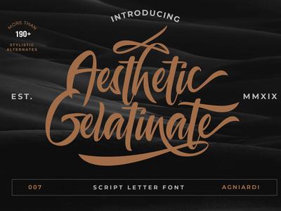 Aesthetic Gelatinante Font