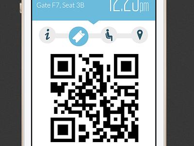 United iOS App Redesign redesign ui tungsten ios7 united app flat css motion airplane html iphone5s