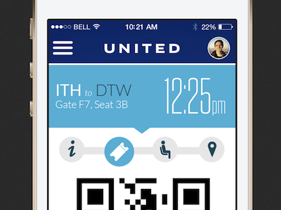 United Ios App Redesign By Evan Knight Dribbble Dribbble