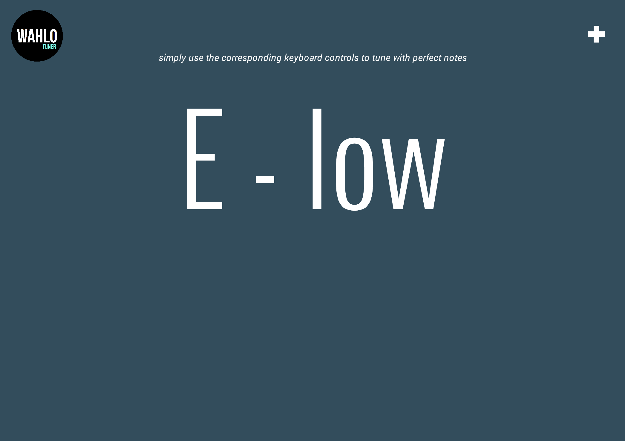 E low