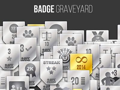 Badge Graveyard superhero ufc mma badge badges icon graveyard iteration fail dead ribbon
