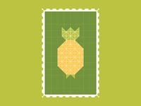 Pineapple Dribbble