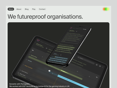Time for a new storm. agency ui ux saas product design portfolio