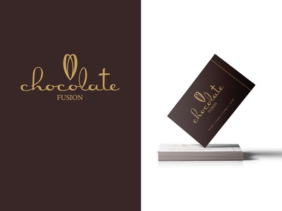 Logo & Branding Design - Chocolate Fusion