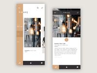 Amunj App UI Design