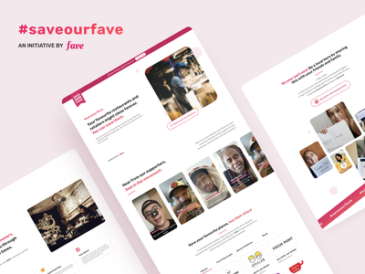 SaveOurFave Responsive Website malaysia kuala lumpur uiux responsive design website design web design visual design interface design uxdesign uidesign ui ux design