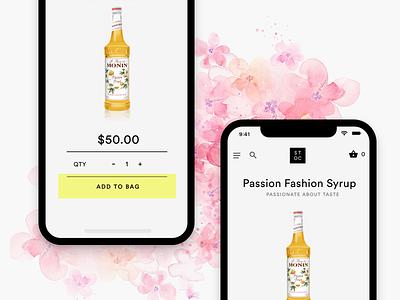 E-commerce app in iPhone X applex ux ui mobile app ecommerce ios iphone