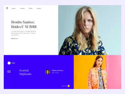 Mondarian ecommerce website ux ui mondarian grid minimal