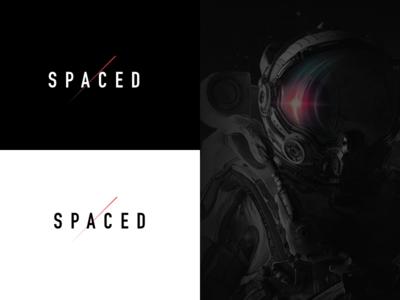 SPACEDchallenge mars moon space branding spaced logo