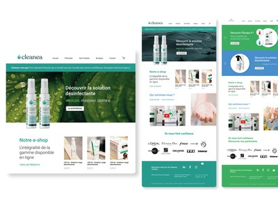 Website for a virus killer website web vector type logo webdesign design ux typography ui