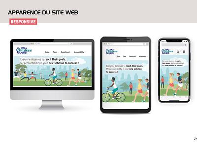 Responsive website webdesign website design logo illustration vector website web app ux branding ui design