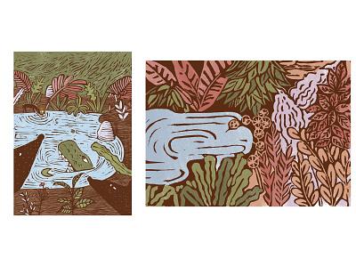 Illustrations print illustration