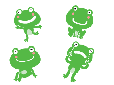 Frog's daily