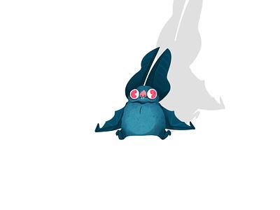 Bat vampire bat animal character characterdesign illustration