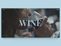 Wine store Main page