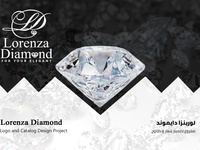 شعار وكتالوج - Logo and Catalog Lorenza Diamond