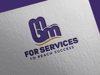 MBM For Services Logo Design