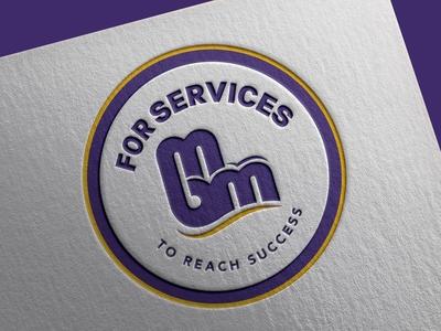 MBM For Services Logo Design