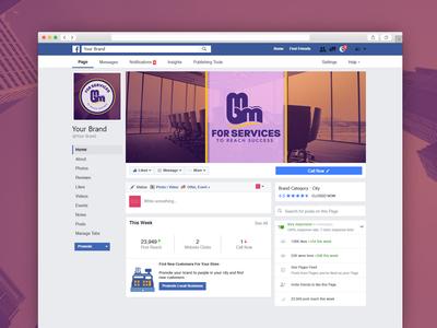 MBM For Services Facebook Design