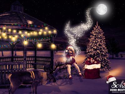 Christmas Magic - Photo Manipulation
