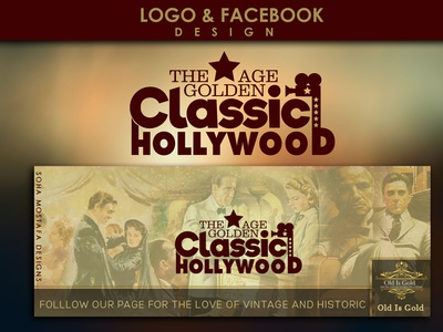Logo and Facebook Design - Classic Hollywood