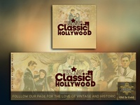 Facebook Design - Classic Hollywood