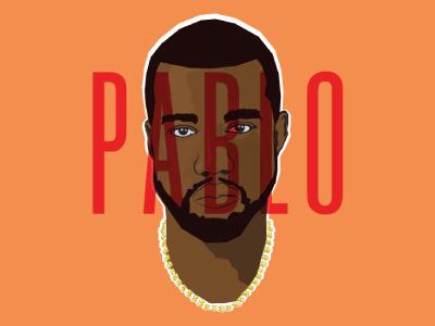 The Life of Pablo kanye illustration