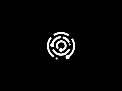 Identity logo icon finger print identity