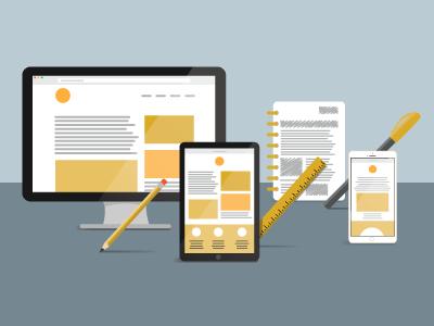 Responsive Web Design illustration responsive web