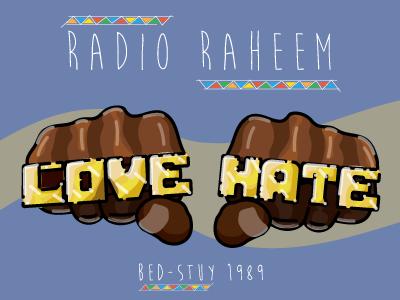 The Story of Right Hand, Left Hand (RIP Bill Nunn) fight the power 1989 illustration do the right thing rip radio raheem bill nunn