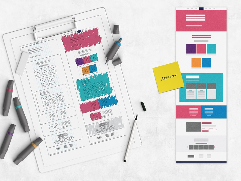 Sketches for Bootealicious website process flow process branding wireframe sketch colorful graphic design illustration webdeisgn graphicdesign ui webdesign uxui