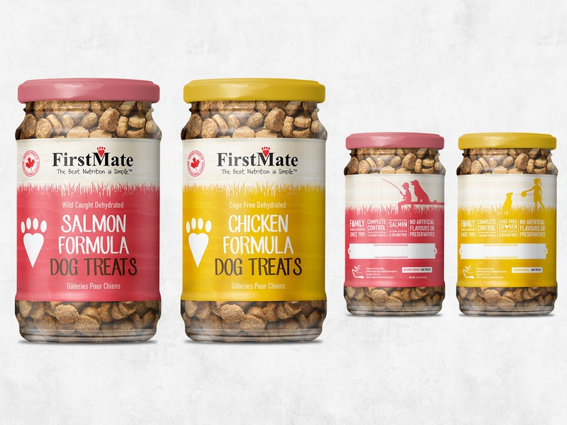Firstmate Treats Package gustavo chams package design package mockup packagedesign package branding design graphicdesign illustration typography