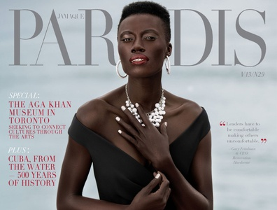 Kesha B. photographed for Jamaque Paradis Magazine