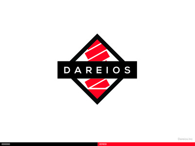 Dareios Logo Design