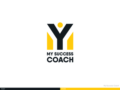 My success coach logo design
