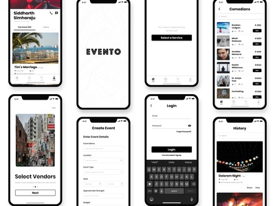 Evento Mobile Application