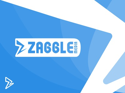 Zaggle Media Logo Design