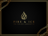 Fire and Ice Logo Design
