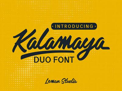 Free font font script calligraphy