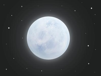 Moon star universe planet nasa illustration galaxy icon moon
