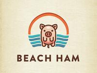 Beach Ham | Logo