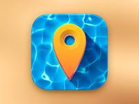 Marine Locator Icon